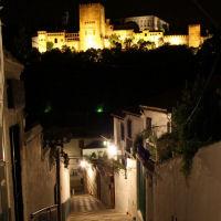 Twilight: Albayzin and Sacromonte