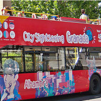 City Sightseeing Tour Bus Granada