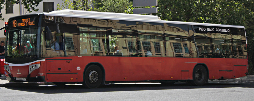 LAC buses in Granada
