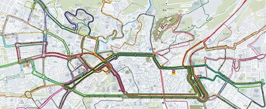 Baño Japones Granada:Granada Bus Map