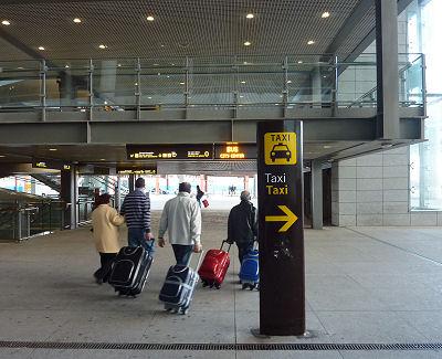 aeropuerto malaga parada autobús