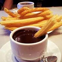 Breakfast: Churros con Chocolate