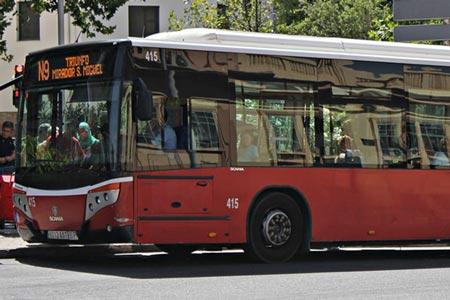 Buses in Granada
