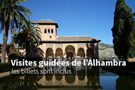 Visites guidées de l'Alhambra