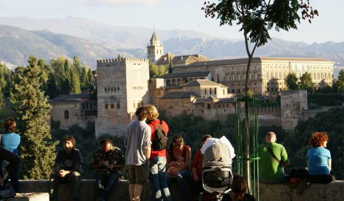 alhambra from mirador de San Nicolas